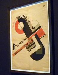 Affiche Bauhaus. Photo: PHB/LSDO