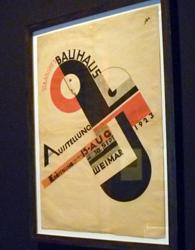 Affiche Bauhaus. Photo: PHB/LSDO