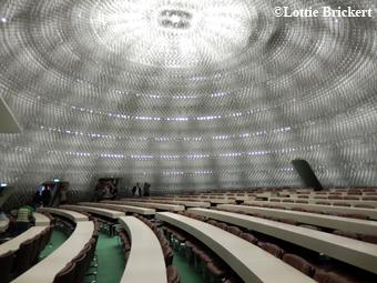 salle de réunion du comité central. © Lottie Brickert