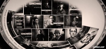 Images de Snowden sur le web. Photo: PHB/LSDP