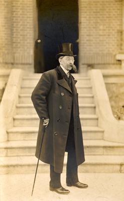 Portrait photographique de Verhaeren par un anonyme