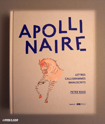 Apollinaire par Peter Read. Photo: PHB/LSDP
