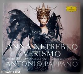 CD d'Anna Netrebko. Photo: LBM