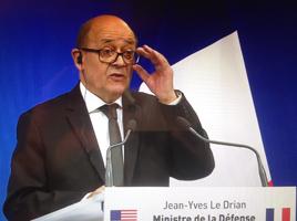 Jean-Yves le Drian le 25 octobre 2016. Photo: PHB/LSDP