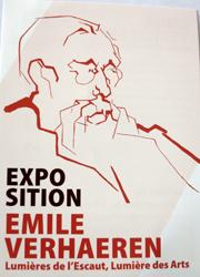Emile Verhaeren exposition Tournai