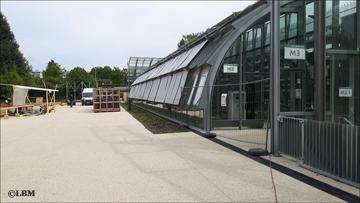 stade de tennis au jardin des serres d'auteuil. Photo: LBM
