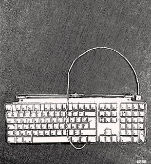 clavier ordinateur. Illustration: PHB/LSDP